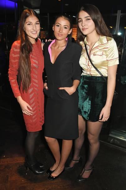 Lauree Mills, Cora Corre and Maddie Mills