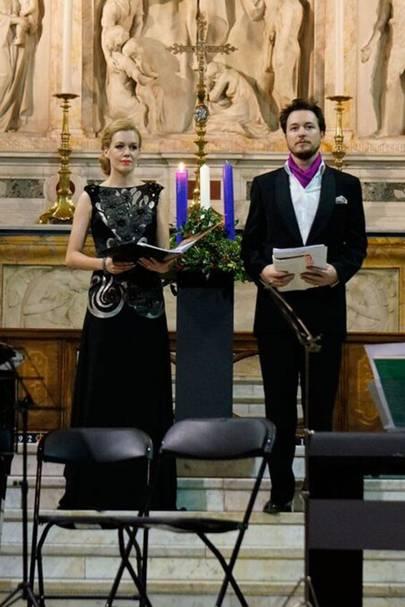 Alexandra Kennedy and Oliver Gerrish