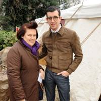 Suzy Menkes and Graeme Fidler