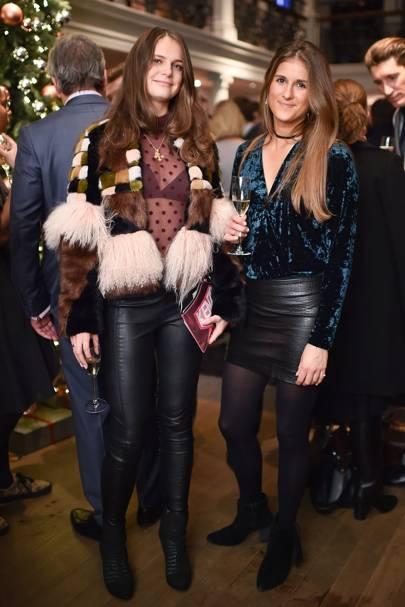 Lady Jemima Herbert and Sarah King