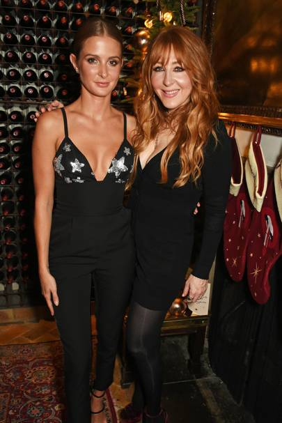 Millie Mackintosh and Charlotte Tilbury