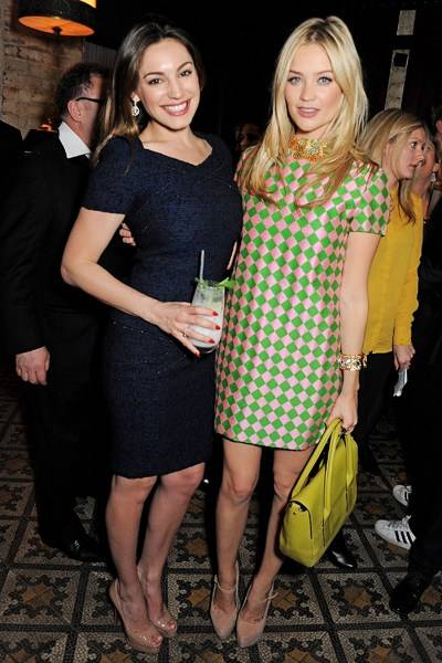 Kelly Brook and Laura Whitmore