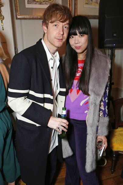 Steve Salter and Susie Lau