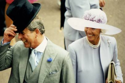 The Prince of Wales and Mrs Geoffrey Kent