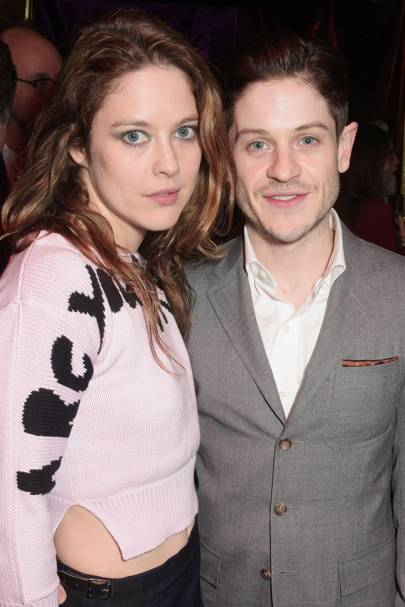 Zoe Grisedale and Iwan Rheon
