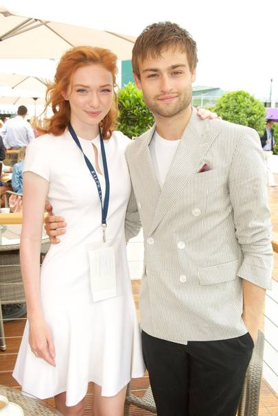 Eleanor Tomlinson and Douglas Booth