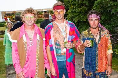 Rory Horne, Freddie Horne and Zac Hagedoorn