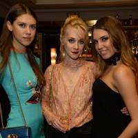Sabrina Percy, Portia Freeman and Amber Le Bon