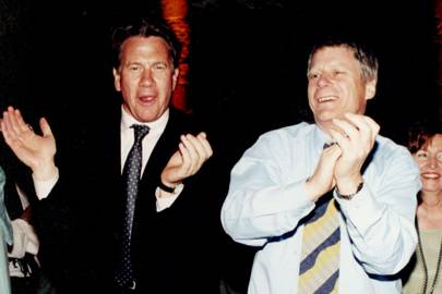 Michael Portillo and Nick Ross