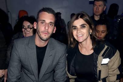 Victor Roitfeld and Carine Roitfeld