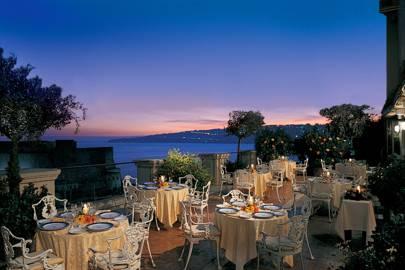 La Terrazza, Hotel Excelsior, Naples