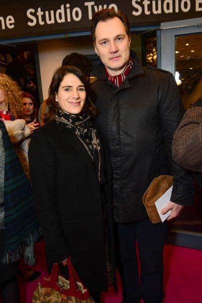 Esther Freud and David Morrissey