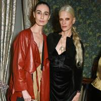 Erin O'Connor and Kristen McMenamy