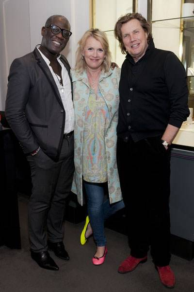 Errol Douglas, Louise Fennell and Theo Fennell