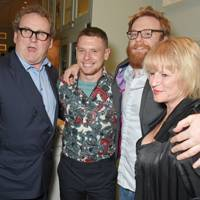 Colm Meaney, Jack O'Connell, Brian Gleeson and Lisa Palfrey