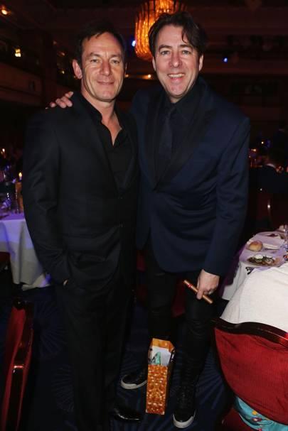 Jason Isaacs and Jonathan Ross