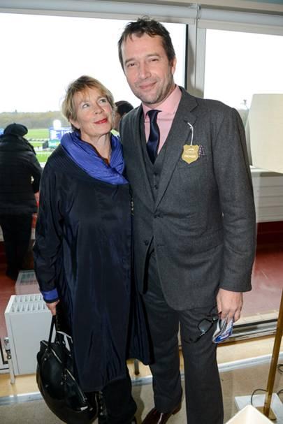 Celia Imrie and James Purefoy