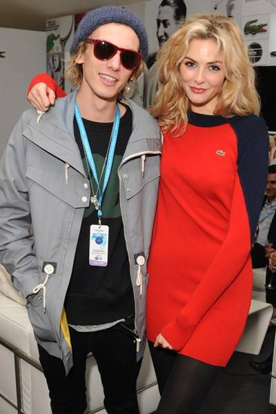 Jamie Campbell Bower and Tamsin Egerton
