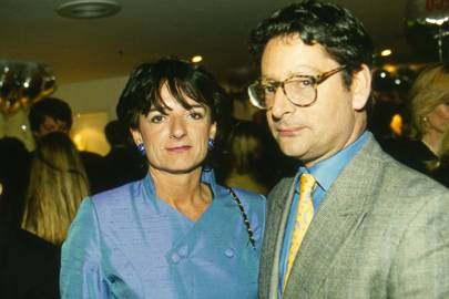 Mrs Dominic Lawson and the Hon Dominic Lawson
