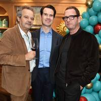 Mark Hix, Jimmy Carr and Mark Wogan
