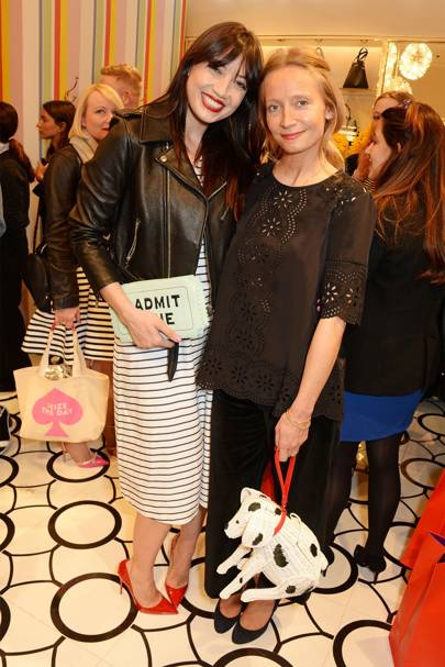 Daisy Lowe and Martha Ward