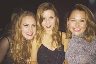Sophie Wilson, Olivia Bennett and Sophie Fairclough