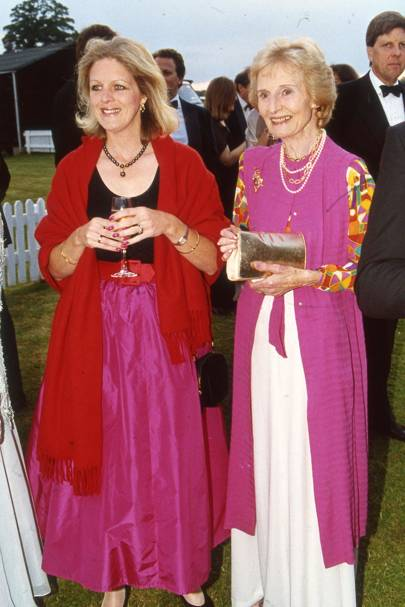 Lady Camilla Hipwood and Mrs Douglas Brown
