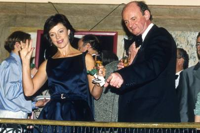 Sue Lloyd-Roberts and Nick Guthrie