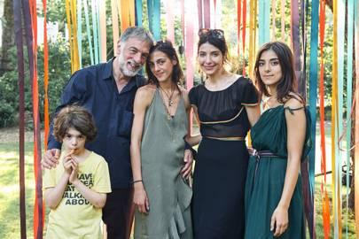 Ari Karayiannis, Akis Karayiannis, Kiki Karayiannis, Eva Karayiannis and Chloe Karayiannis