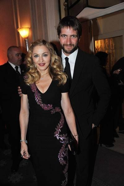 Madonna and Kris Thykier
