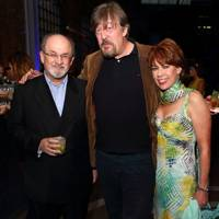 Sir Salman Rushdie, Stephen Fry and Kathy Lette