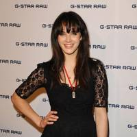 At the G-Star Raw Nights party, London, 2011