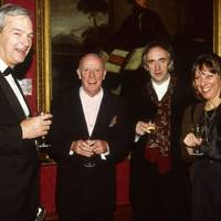 Jon Snow, Richard Wilson, Jonathan Pryce and Jennie Stoller