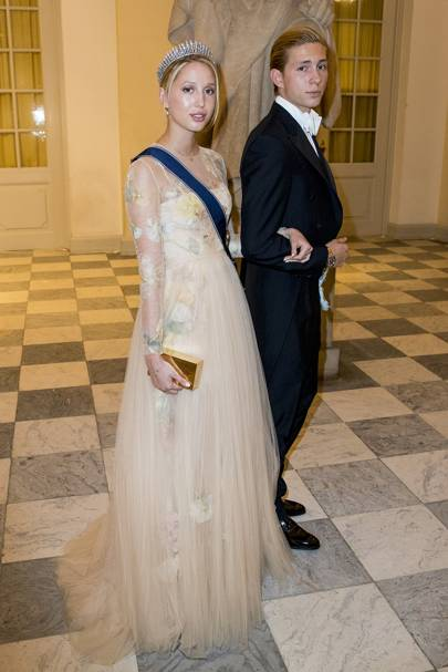 Princess Maria-Olympia of Greece, 2018.