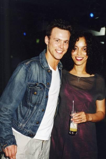 Alex Maclean and Mrs Tony Calliva