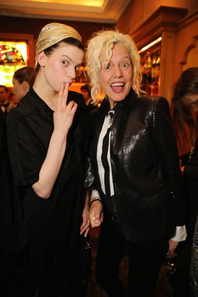 Lily McMenamy and Ellen Von Unwerth