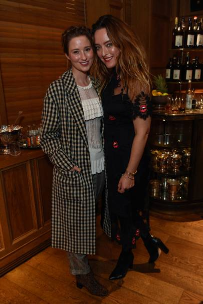 Kelly Eastwood and Alice Temperley