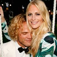 Peter Dundas and Poppy Delevingne