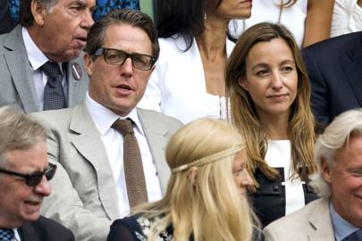 Hugh Grant and Anna Elisabet Eberstein