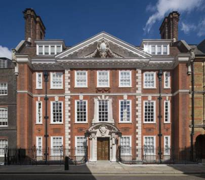 7-bedroom townhouse on Cowley Street, Westminster