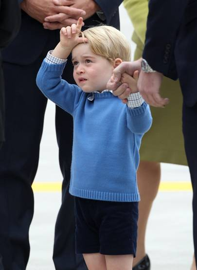 Prince George just called you a loser and you were powerless to defend yourself