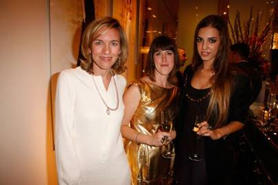Bronwyn Cosgrave, Rosie Emerson and Amber Le Bon
