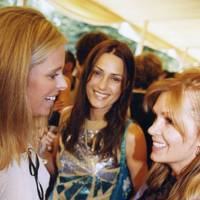 Mrs Paul Stewart, Yasmin Le Bon and Amanda Kyme