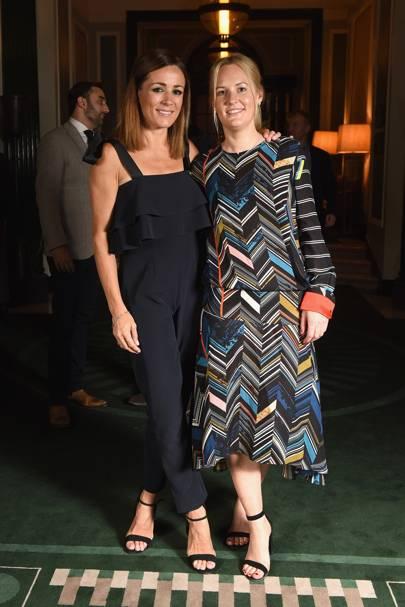 Natalie Pinkham and Gemma Ebelis