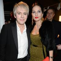 Nick Rhodes and Yasmin Mills