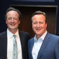 Jamie Blackett and David Cameron