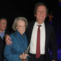 Dame Maggie Smith and David Hare