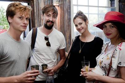 Thom Glover, Matt Grimmer, Moss Barclay and Carina Pichler