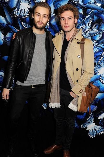 Douglas Booth and Sam Claflin