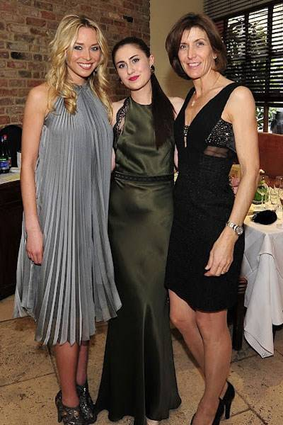 Noelle Reno, Francesca Barrow and Amanda Rudin